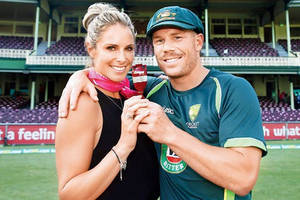 david warner credits fiance candice for career revival